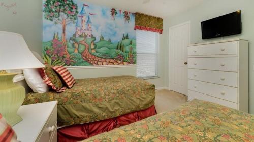 Peaceful 5 Bedroom Pool Home in Windsor Palms Resort Main image 1