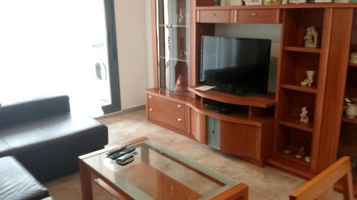 . Apartment with 3 bedrooms in Sant Jordi with shared pool enclosed garden and WiFi 12 km from the beach