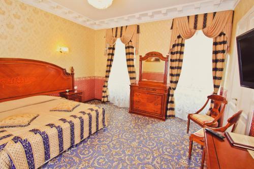 Отель Счастливый Пушкин Стандартный двухместный номер с 1 кроватью или 2 отдельными кроватями