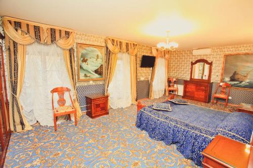 Отель Счастливый Пушкин Двухместный номер «Комфорт» с 1 кроватью или 2 отдельными кроватями