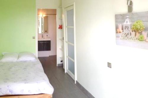 . Apartment with one bedroom in Blois with wonderful lake view furnished balcony and WiFi