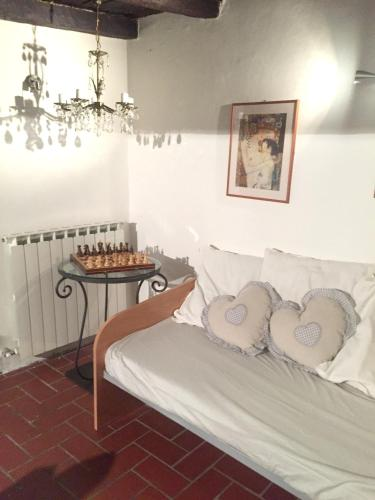 . Apartment with one bedroom in Bagnaia Viterbo with wonderful city view and WiFi 40 km from the beach