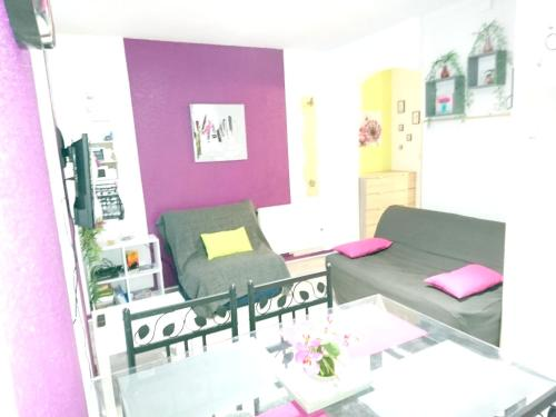 . Apartment with one bedroom in Cauterets with wonderful city view and WiFi