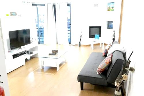 . Apartment with 2 bedrooms in Ponta Delgada with wonderful city view furnished garden and WiFi