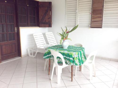 Appartement d'une chambre a Petit Canal avec jardin clos et WiFi a 8 km de la plage - Location saisonnière - Petit-Canal