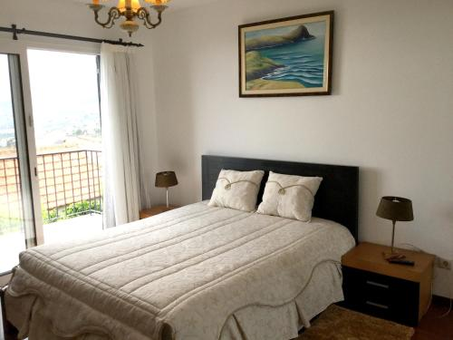 Hotel-overnachting met je hond in Apartment with 2 bedrooms in Funchal, with wonderful sea view, terrace and WiFi - 6 km from the beach - Achada de Cima