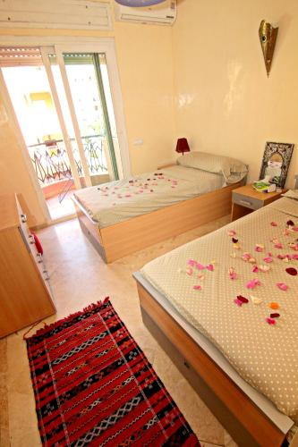 . Apartment with 2 bedrooms in Marrakesh with wonderful city view furnished balcony and WiFi