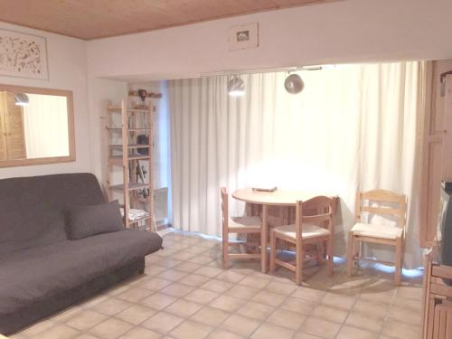Apartment with one bedroom in Vars, with wonderful mountain view and furnished garden - 300 m from the slopes Vars