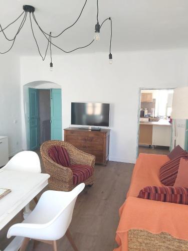 Appartement de 2 chambres a Algajola avec terrasse amenagee a 300 m de la plage - Location saisonnière - Algajola