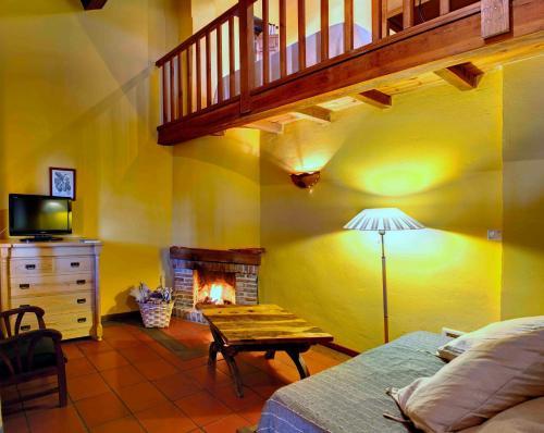 Suite Junior La Montaña Mágica Hotel Rural 1