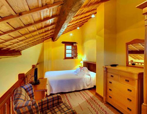 Suite Junior La Montaña Mágica Hotel Rural 20