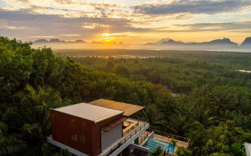 Ao Luek Panoramic Pool Villa Krabi