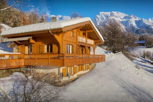 Charming family chalet cosy fireplace sauna & mountain views - OVO Network - Chalet - Manigod
