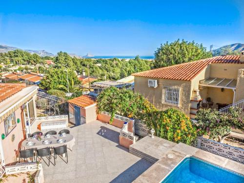 Beautiful villa with private pool & stunning view