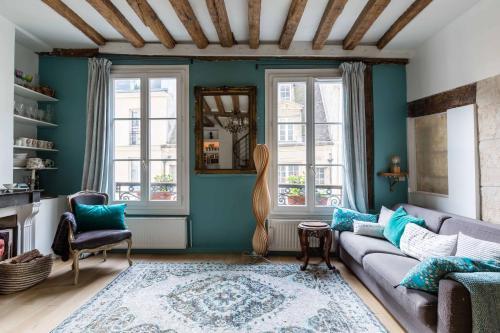 Veeve - Artistic Excellence in the Marais - Location saisonnière - Paris