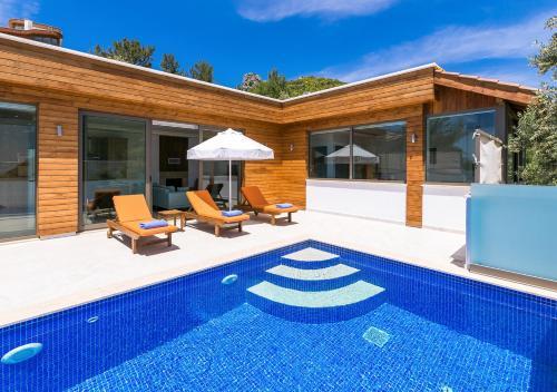 Villa Bella 2 Sleeps 4 Isolated Honeymoon Heated Pool - Accommodation - Kas