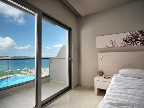 Deluxe Double or Twin Room with Panoramic Sea and Pool View (2 Adults)