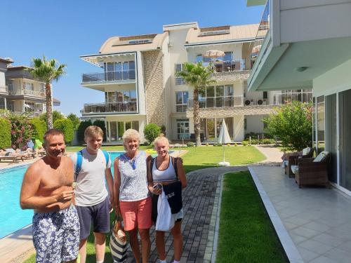 . Antalya belek elegant golf apartment first floor 2 bedrooms pool view close to center