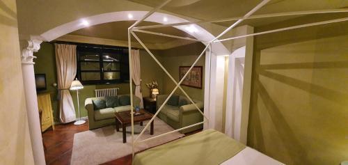 Habitación Doble con bañera de hidromasaje Casona Camino Real De Selores 6