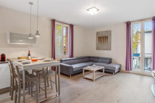 Calm and charming flat in l'ile Verte close to Grenoble center - Welkeys