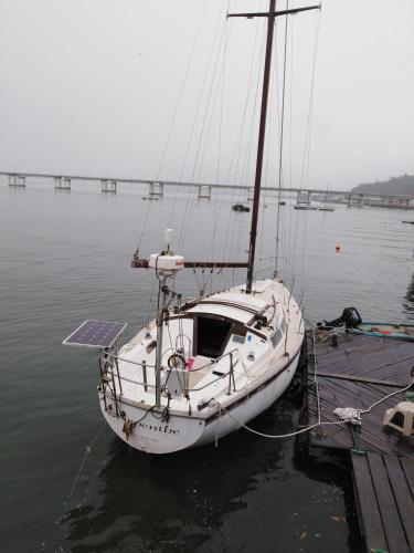 Catalina Sail Boat at Puerto Amistad