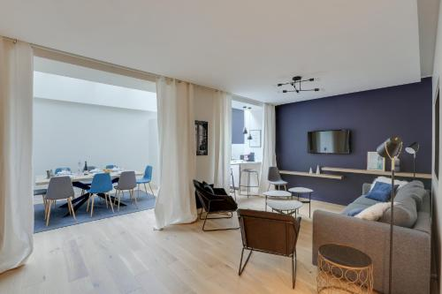 140 Suite Ludo, Luxury apartment center of Paris - Location saisonnière - Paris