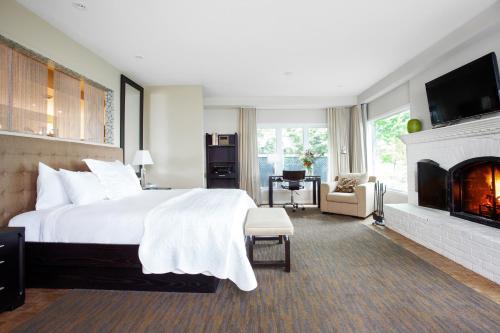 Manoir Hovey room photos