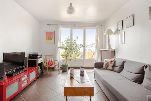 Charming flat with balcony in Montreuil at the doors of Paris - Welkeys - Location saisonnière - Montreuil