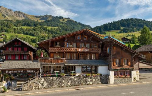 Hotel Restaurant Les Lilas - Les Diablerets