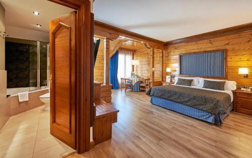Junior Suite - single occupancy Hotel Grèvol Spa 3