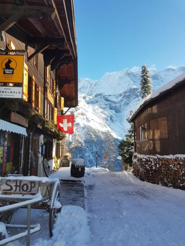 Accommodation in Gimmelwald