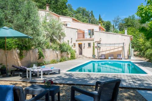 Collobrieres Villa Sleeps 4 Pool WiFi