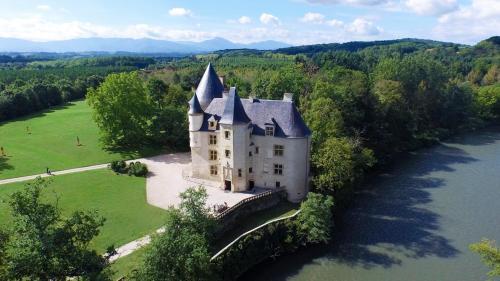 Lestelle-de-Saint-Martory Chateau Sleeps 20 Pool