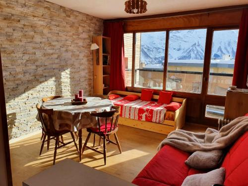 Studio Queyrelet 1 pied des pistes avec balcon & vue 2-4 personnes - Apartment - Orcières-Merlette