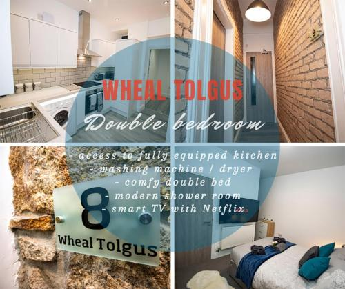 Trelu - Gorgeous Ensuite Bedrooms With Access To A Stunning Kitchen In A Newly Renovated Propert, Camborne, Cornwall