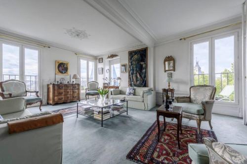 Luxury apartment on the Ile de la Cité