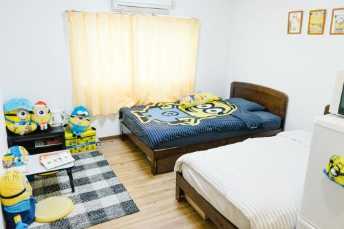 林林の民宿-関空直達、minion room 小黄人主题房