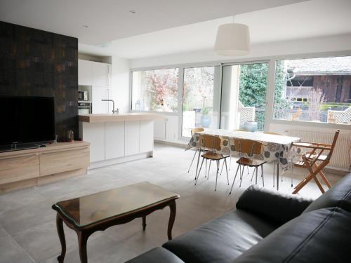 Superbe appartement en centre ville avec terrasse - Location saisonnière - Thonon-les-Bains