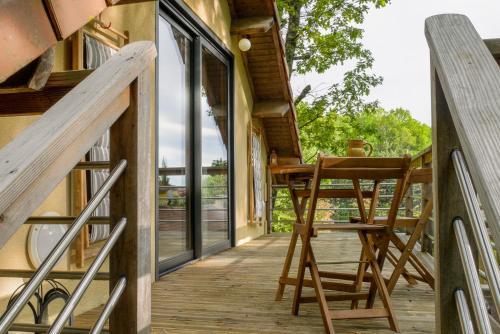 Studio cosy perché dans les arbres au coeur du Périgord proche Sarlat - Location saisonnière - Castels et Bézenac
