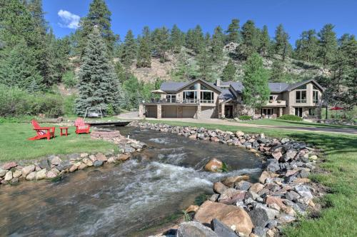 Stunning Evergreen Mountain Home on Private Stream - Evergreen