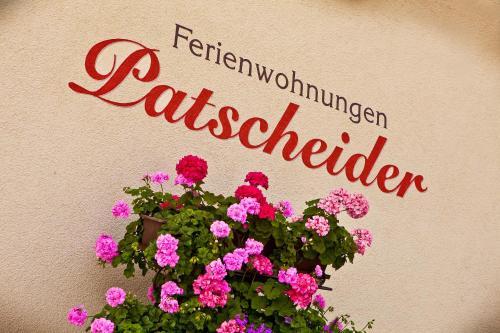 Фото отеля Ferienwohnungen Appartements Patscheider