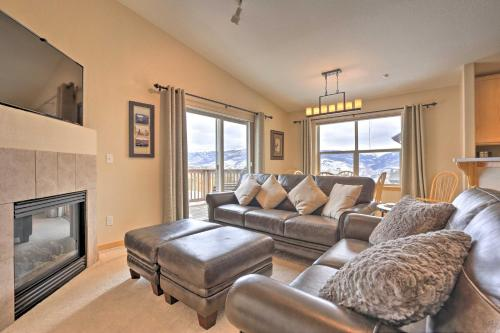 Picturesque Silverthorne Condo with Mountain View - Apartment - Silverthorne