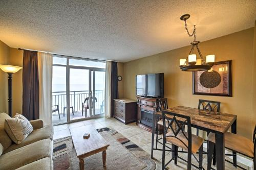 North Myrtle Beach Resort Condo w/ Ocean Views!
