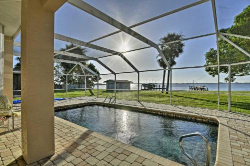 Punta Gorda Waterfront Home with Private Pool & Dock!