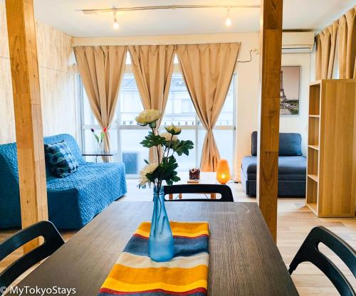 SUPER VALUE Spacious 1BEDROOM Apartment Near Station in SHINJUKU AREA!! Monthly stay OK Free Wifi & TV!