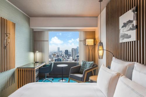 行政特大雙人床房-可使用行政貴賓廳 (Executive King Room with Access to Executive Lounge)