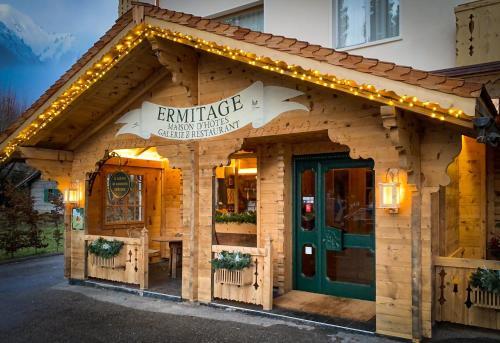 Maison d'hôtes Ermitage - Hotel - Château d'Oex