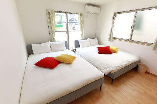 Cozy Apt 3m JR Shinokubo【2 Double beds】in Shinjuku