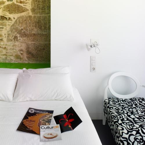 Double or Twin Room Moure Hotel 26