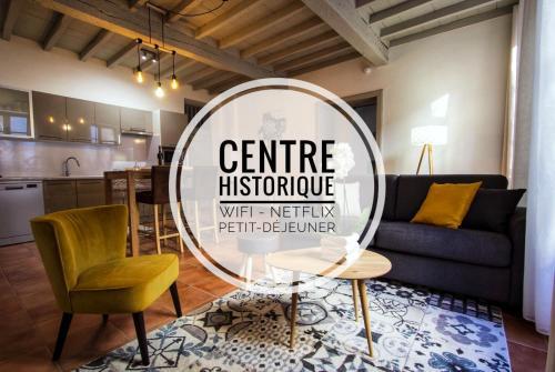 En toute intimité dans le centre historique - Location saisonnière - Montauban
